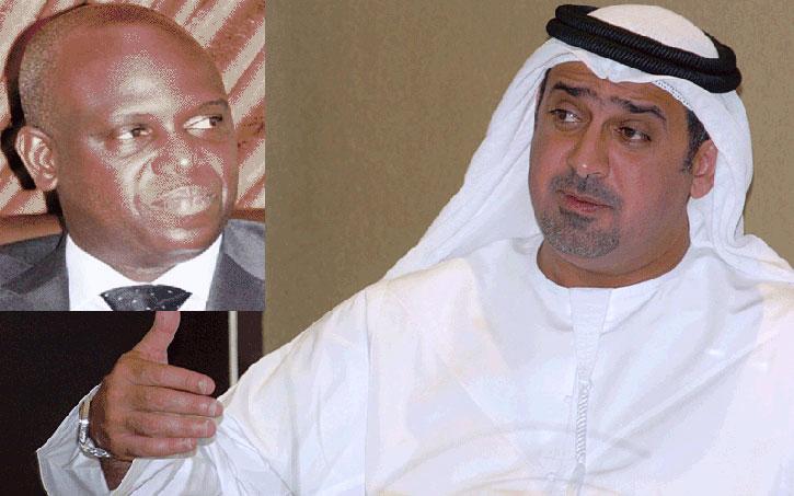 """Mansour FAYE va """"remettre"""" les clés de Saint-Louis à Khalifa ben Zayed Al Nahyanen, le 17e homme le plus riche du monde, ce mardi."""