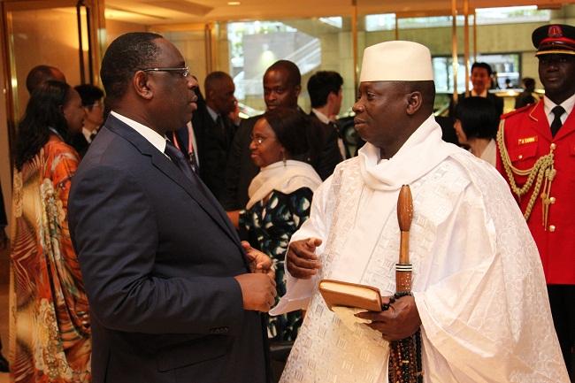 Jammeh invite Macky à Banjul