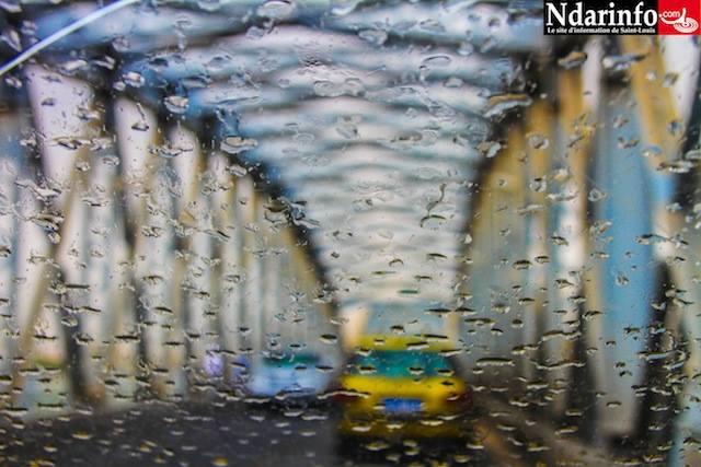 MÉTÉO : Une fine pluie  tombe sur Saint-Louis, à l'instant (06h55mn)