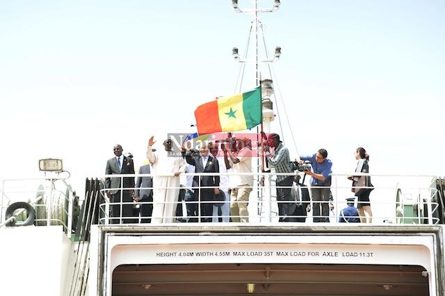 Les images exclusives de la visite de Makcy SALL en Casamance, ce jeudi.