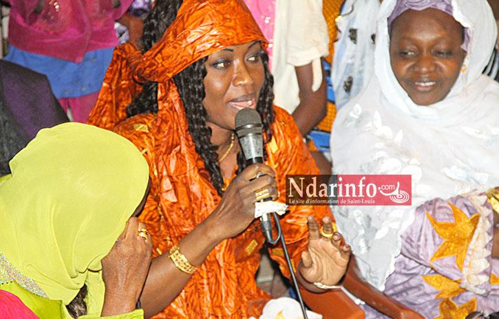 SAINT-LOUIS: En visite à Cité Niakh, Sokhna Ndiaye FAYE mobilise les militants de l'APR.