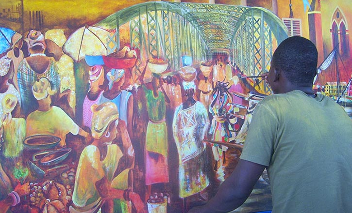 3e ÉDITION DES ITINÉRAIRES ARTISTIQUES : Saint-Louis, capitale des Arts plastiques, du 14 au 31 mars 2015.