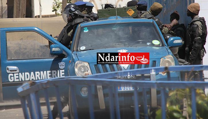 PROCÈS KARIM WADE - DÉLIBÉRATION DE LA CREI: Saint-Louis sous haute surveillance policière.