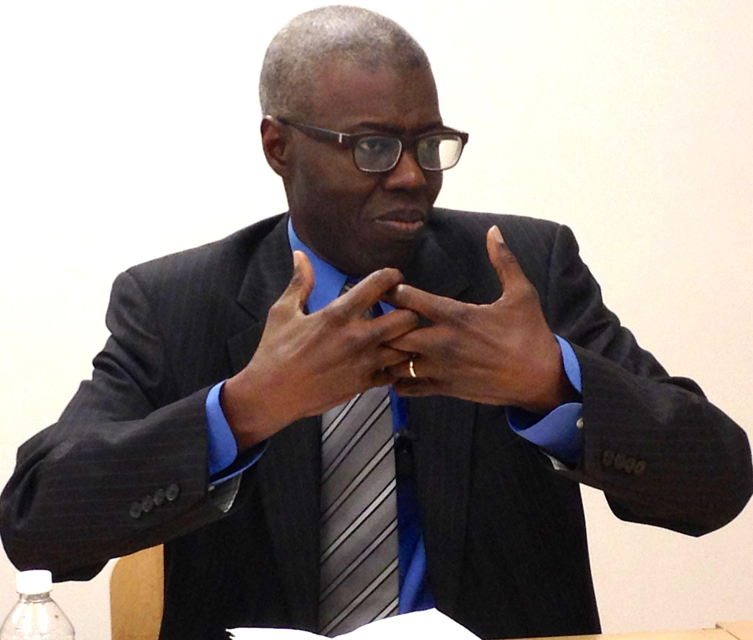 Souleymane Bachir Diagne trouve absurde la théorie du choc des civilisations