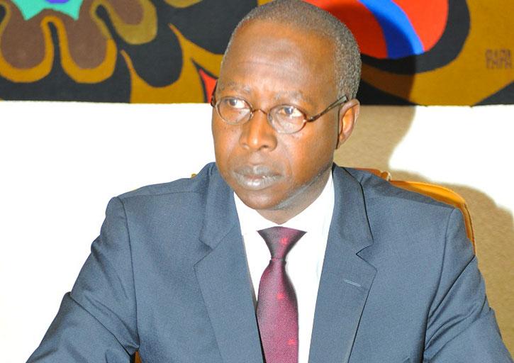Le Premier Ministre Abdallah DIONNE à Saint-Louis, aujourd'hui, pour inaugurer le Pont Masseck NDIAYE.