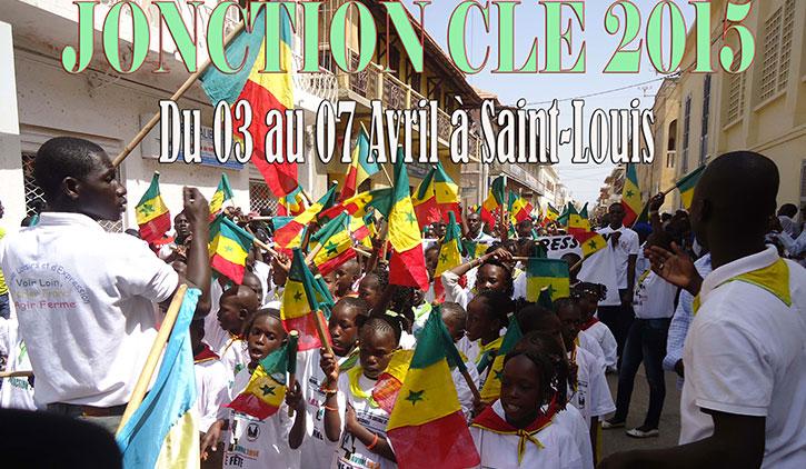 ÉDUCATION - JONCTION 2015: rencontres et échanges entre enfants et encadreurs à Saint-Louis, du 03 au 07 avril 2015.