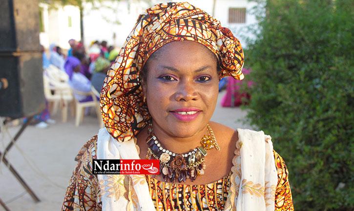 Mme Ramata DIENG, présidente des femmes de la Léona 2, Eaux-Claires et Diaminar.