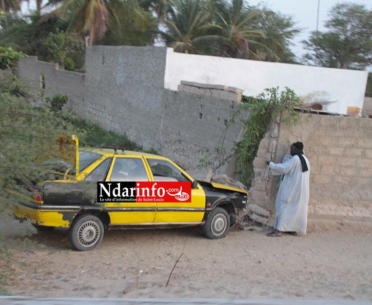 URGENT : Accident spectaculaire à l'entrée de BANGO (photos)