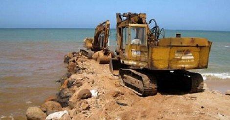Saly : 50 mètres de plage récupérés grâce aux brise-lames