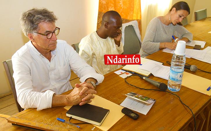 Le Président du GRET et le Président du Conseil départemental de Dagana