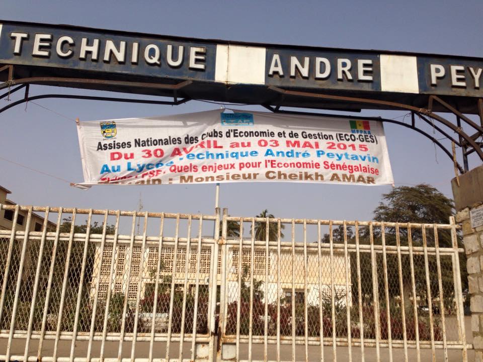 """Des """"Assises nationales de l'économie"""" à Saint-Louis."""