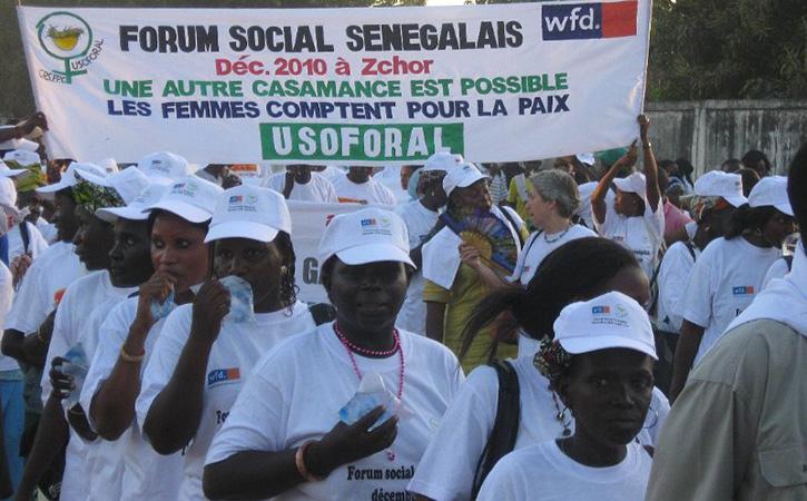 PAIX EN CASAMANCE: Mémorandum de la Plateforme des Femmes de Saint-Louis.