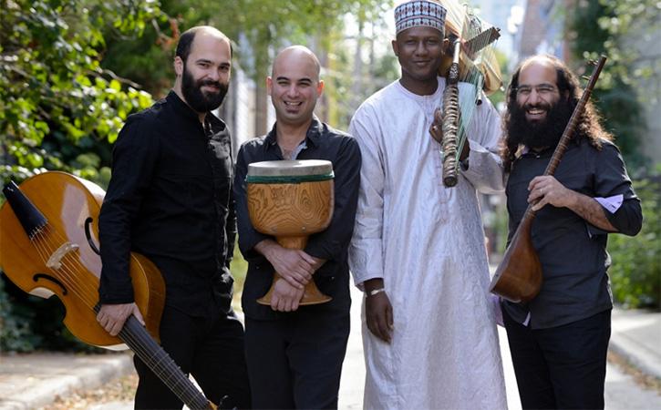Constantinople et Ablaye Cissokho: métissage musical et symbiose de sonorités.