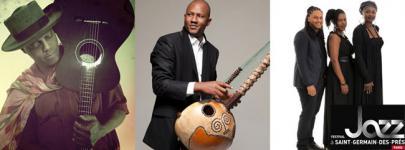 MUSIQUE: la Kora d'Ablaye CISSOKO pour bercer le Festival de jazz de Saint-Germain-des-Prés.