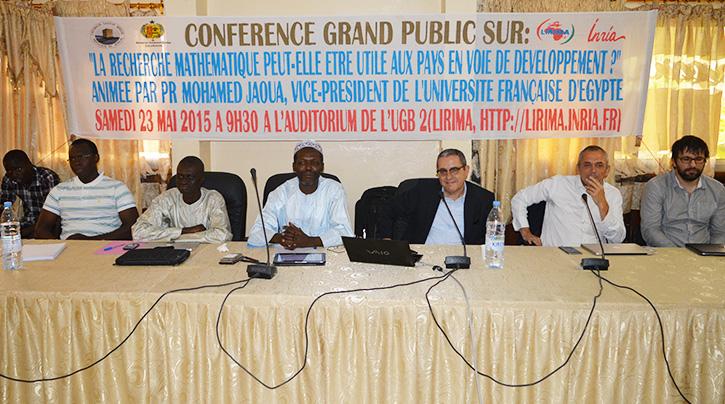 SAINT-LOUIS : «  les problèmes de la brèche et des inondations de Saint-Louis peuvent-être résolus grâce à la recherche mathématique », révèle le professeur Moussa LO.