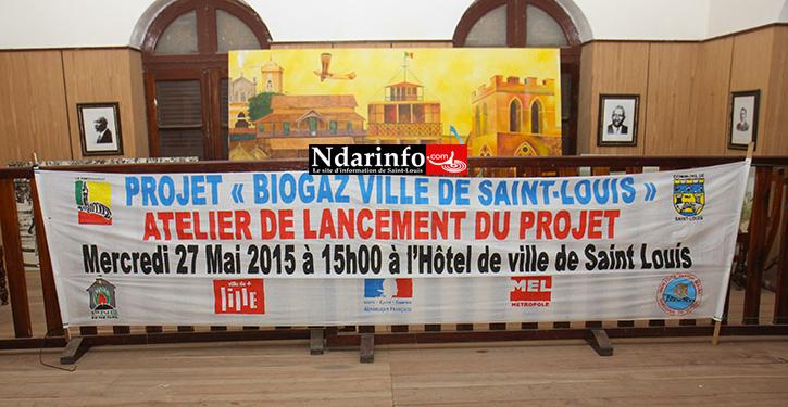 ÉNERGIES RENOUVELABLES : le projet « Biogaz ville de Saint-Louis » lancé.