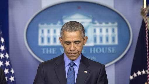 """Obama dénonce des """"meurtres insensés"""""""