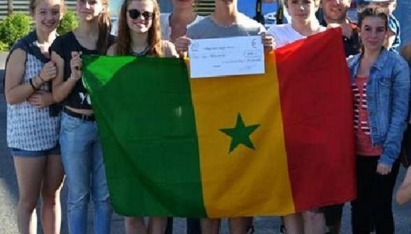 Saint-Laurent-Blangy - Saint-Nicolas: des élèves du collège Verlaine ont lavé des voitures pour le Sénégal