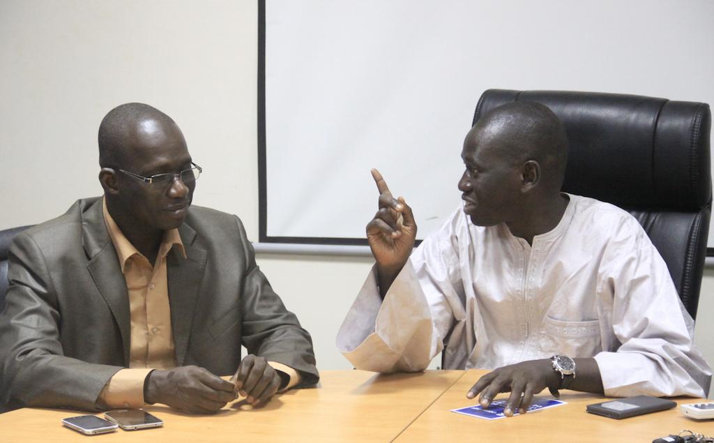 Rencontre entre la presse en ligne et Serigne Mboup, Président des Chambres de commerce, d'industrie et d'agriculture du Sénégal : que de perspectives en vue !
