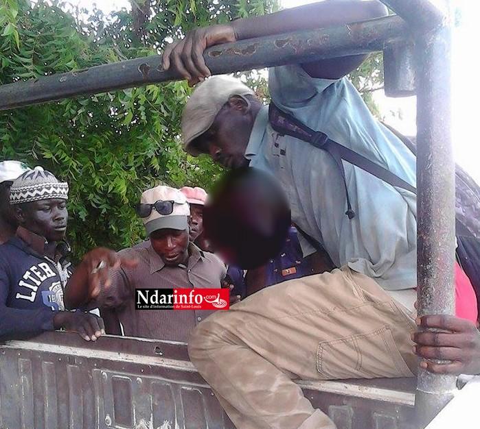 NGALLELE : un voleur de fer à construire alpagué (photos)