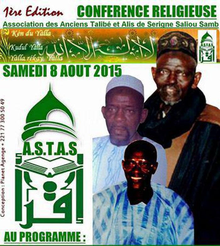 RELIGION: Hommages à El Hadji Bachir SAMB, ce 08 Aout 2015.