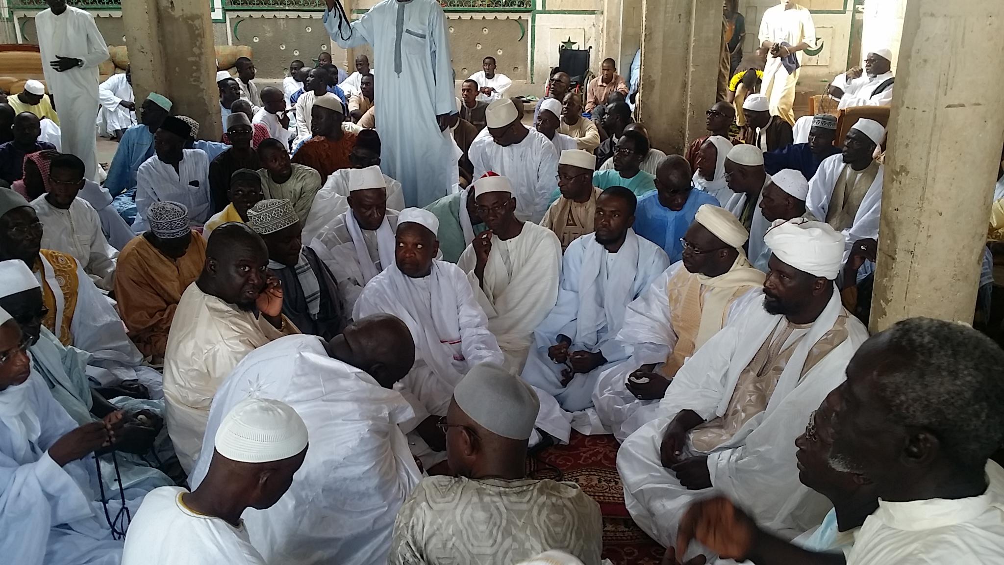URGENT : la famille islamique de Saint-Louis brille à la mosquée du Sud (direct)