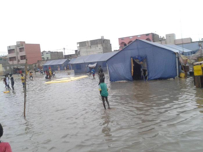 ALERTE ROUGE: le sinistrés de Goxu Mbacc sous les eaux.