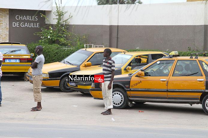 GRÈVE DES CHAUFFEURS : Pas de Taxis à Saint-Louis, ce vendredi.