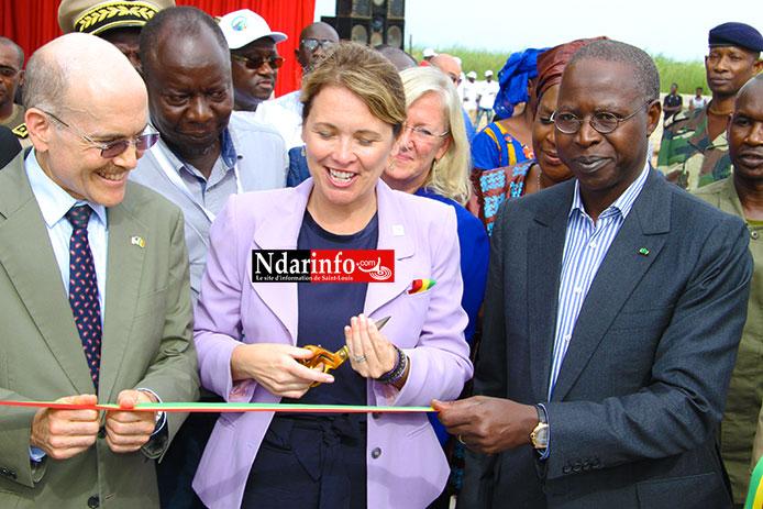 VIDEO - Suivez l'inauguration de l'emissaire du Delta par le Premier ministre Abdallah DIONNE