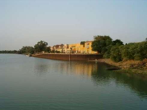 Podor: La localité de NDIAWAR sous les eaux