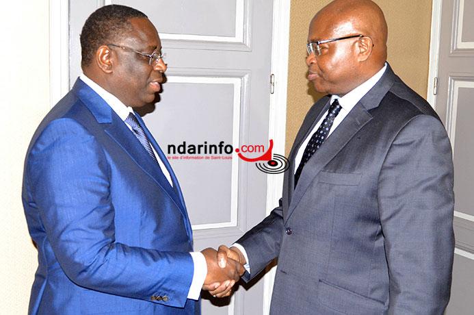 Me CISSE en tête à tête avec le Président Macky SALL