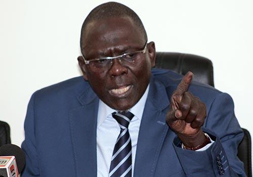 """Moustapha DIAKHATE : """"La minorité parlementaire déshonore son mandat électif"""""""