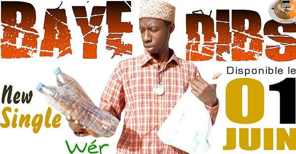 MUSIQUE: le rappeur Baye Dibs sort un single intitulé ''Mnsieur le maire fo nek ?''