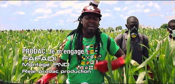 Fafadi chante l'agriculture