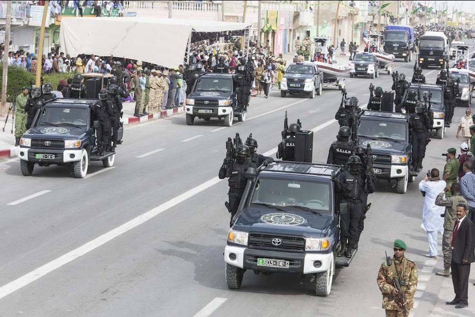 55e ANNIVERSAIRE DE LA MAURITANIE: les images du défilé militaire à NOUAKCHOTT.