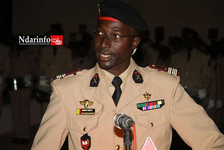 Le Lieutenant Colonel MBAYE GUEYE, commandant de l'école