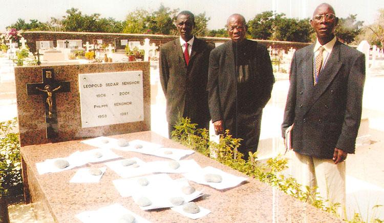 Alioune Badara Coulibaly avec  Amadou Lamine  Sall.