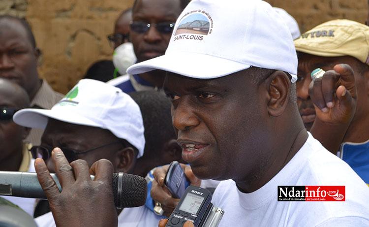 Mansour FAYE, maire de Saint-Louis. Crédit Photo: Ndarinfo.com