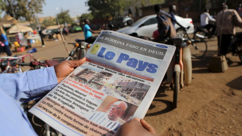 Jusqu'à présent le Burkina Faso avait été épargné par les attaques terroristes. © REUTERS/Joe Penney