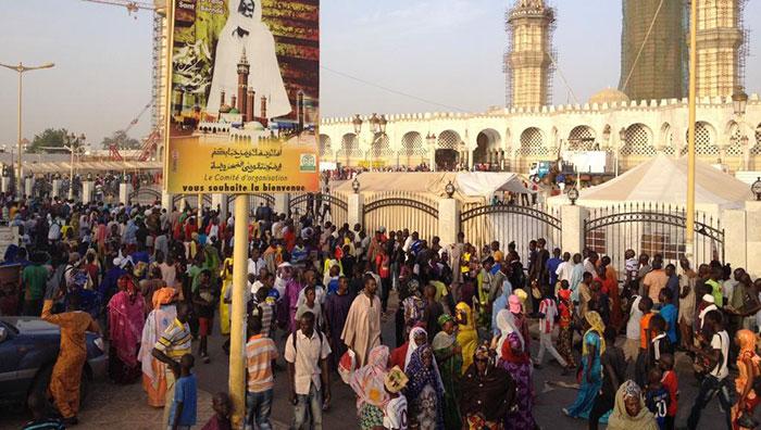 Caricature de Cheikh Ahmadou Bamba : Touba marche contre Jeune Afrique