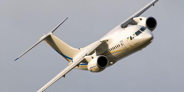 Un Antonov AN-148 du constructeur aéronautique ukrainien. © Wikimedia Commons