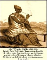 Ndatté Yalla Mbodj, la combattante qui résista à l'arrivée des français au Sénégal en 1855
