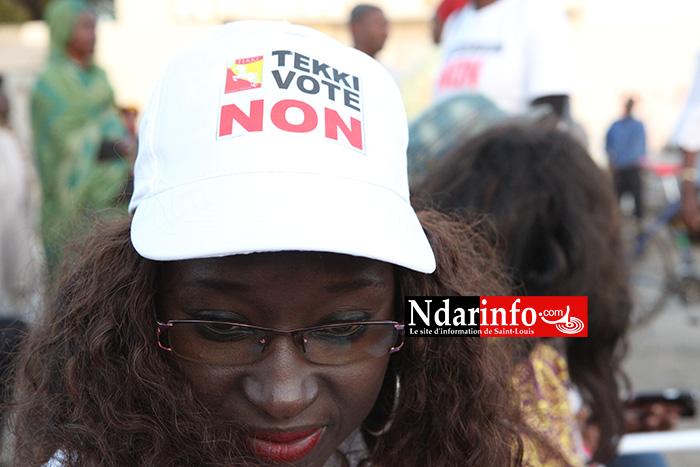 Du feu sur Mansour FAYE, le Front du « NON » exhume les promesses non tenues du Président Macky SALL à Saint-Louis.