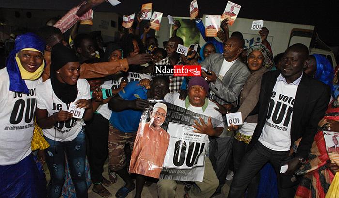 GOXU MBACC : l'APR en ordre de bataille pour la victoire du « OUI ».