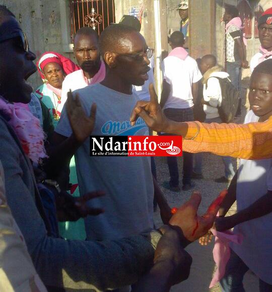 URGENT – Vive altercation à Balacoss: Abba MBAYE blessé.
