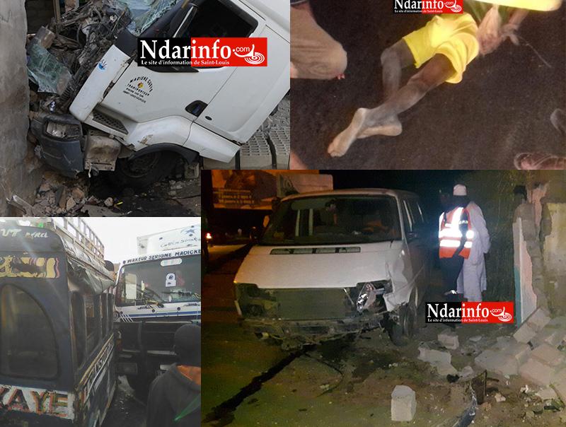 Une compilation d'accidents enregitrés par NdarInfo sur cet axe