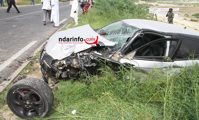 Accident de Baralé NDIAYE:  quatre morts et quatre blessés.