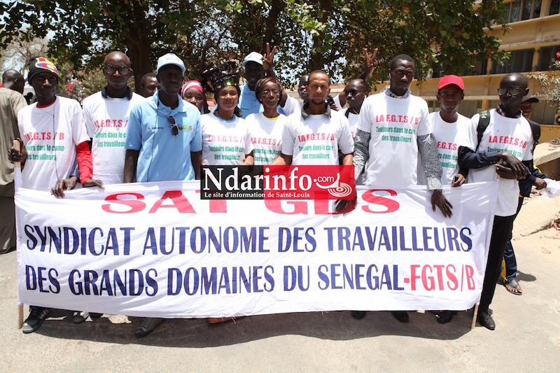 (Images) 1er MAI : le défilé des travailleurs sur la Place Faidherbe.