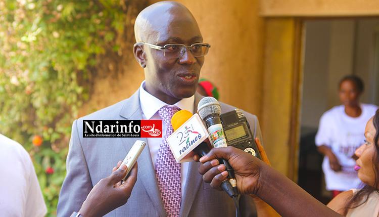 Ngor DIONE, chef des services fiscaux de Saint-Louis.