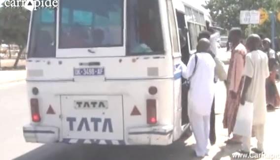 INSÉCURITÉ DANS LE TRANSPORT URBAIN A SAINT-LOUIS : le bus TATA SL 1586 B  de la ligne 4 doit être retiré de la circulation.
